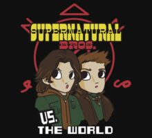 Supernatural Bros. Vs. The World!!! by tonksiford