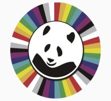 rainbow panda by Kwok Kit Yuen