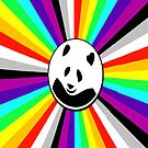 colorful! let panda swim free by benyuenkk