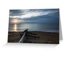Sunrise at Kingsdown Greeting Card