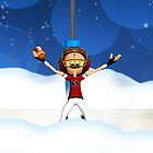 touchdown winter iPhone case by Moonlake