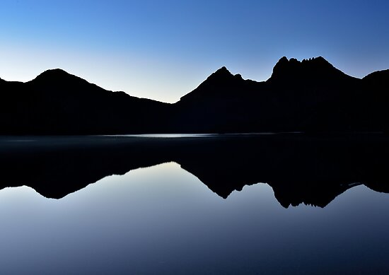 First light at Cradle Mountain by Ian Berry