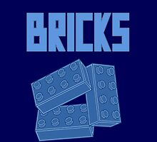 Blue Bricks by Customize My Minifig by ChilleeW