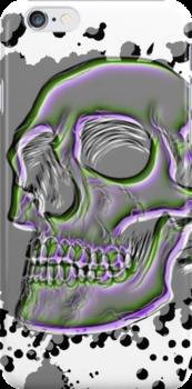 Skull case WEIRD 1 by MrBliss4