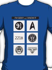 GEEKY POLICE BOX 2 T-Shirt