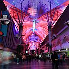 Fremont Street Experience by Tracy Friesen
