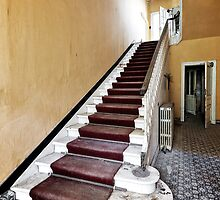 Hotel Stairs by Jean-Claude Dahn