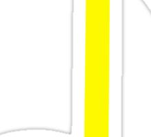 yellow note Sticker