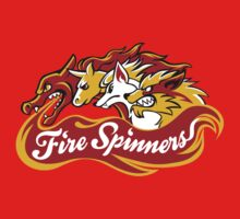 Team Fire Types - Fire Spinners by Kari Fry