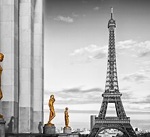 Eiffel Tower PARIS Trocadero by Melanie Viola