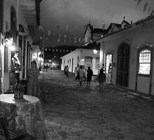 Paraty Street, Brazil by Michelle Thomson