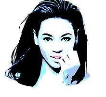 Beyonce - Blue - Pop Art by wcsmack