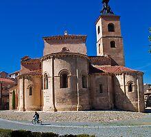 Spain. Segovia. San Millan Church. by vadim19
