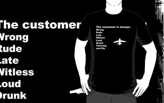 The Customer is Always... by initiala