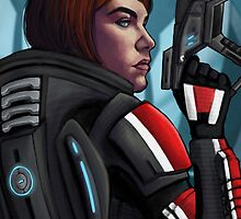 Shepard Commander by Sabrea