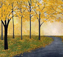 Golden Fall by Herb Dickinson