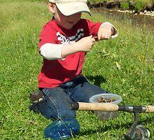 Levi Whitaker Fish'n Marsh Creek by Gwen montgomery