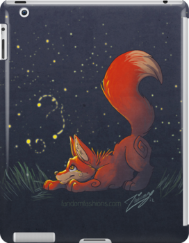 Firefly Fox - Red by Zhivago