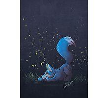 Firefly Fox - Blue Photographic Print
