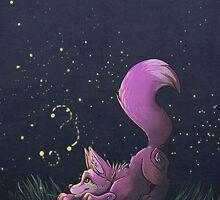 Firefly Fox - Pink by Zhivago