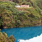 Blue Lake Mount Gambier by Robert Jenner