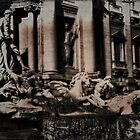 The Iconic Trevi Fountain by Karen Lewis