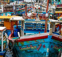 Sri Lankan Fishing Boats by KerryPurnell