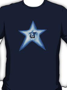 Twinkle Twinkle Smiling Blue Star T-Shirt