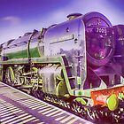 Oliver Cromwell Steam Locomotive by Paul  jenkinson