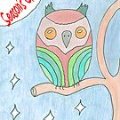 Season's Greetings Owl by elainejhillson