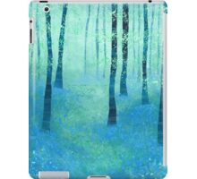 Bluebells, Challock iPad Case/Skin