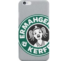 ERMAHGERD, KERFER! iPhone Case/Skin