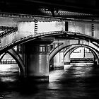 Under the bridge by LadyFran