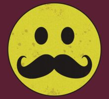 Mustache Smiley by Buddhuu