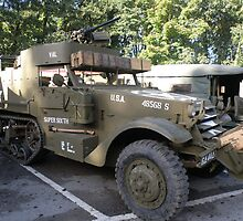 White Half Track. by Edward Denyer