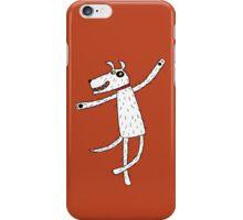 Dancing dog iPhone Case/Skin