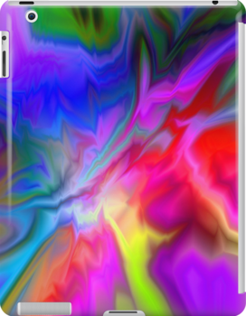 I Razzle Dazzle iPad Case by patjila