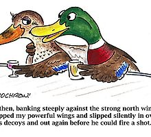 Cartoon: Mallards in bar by BruceCochran