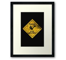 HIGH-VOLTAGE Framed Print