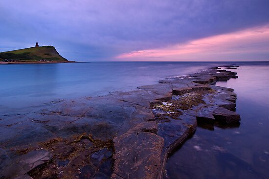 Last light at Kimmeridge by Rachael Talibart
