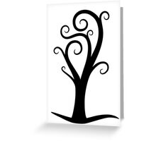 Early October Tree Greeting Card
