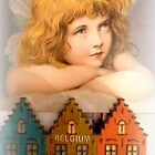 Christmas Angel over Belgium by The Creative Minds