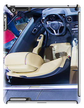 Mercedes-Benz SL 63 AMG Bi-Turbo Inside [ Print & iPad / iPod / iPhone Case ] by Mauricio Santana
