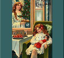 A Merry Christmas Christmas Card by Pamela Phelps