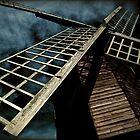 Stormy skies over Pitstone Windmill by hobgoblin