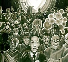 HP Lovecraft At The Movies by aglastudio
