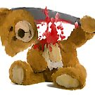 Machete Teddy by ItsBadger