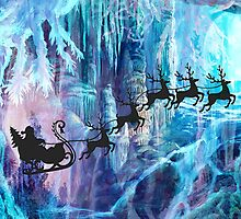 SANTA FROM THE DEPTHS OF THE NORTH POLE by Tammera