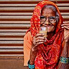 A Lady and her Chai by Valerie Rosen