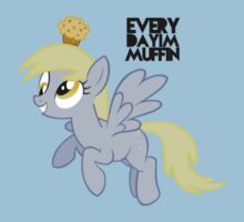 Everyday I'm Muffin Derpy Hooves  by triforce15